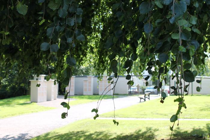 Eingang Friedhof Bochum Werne