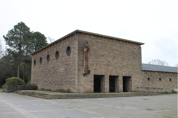 Kleine Trauerhalle Hauptfriedhof Bochum Freigrafendamm